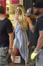 CANDICE SWANEPOEL Out and About in New York 06/26/2017