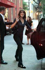 CARLA BRUNI and Nicolas Sarkozy Out in New York 06/17/2017