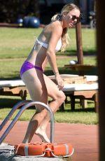 CAROLINE WOZNIACKI in Bikini on Vacation in Italy 06/13/2017