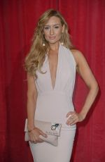 CATHERINE TYLDESLEY at British Soap Awards in Manchester 06/03/2017