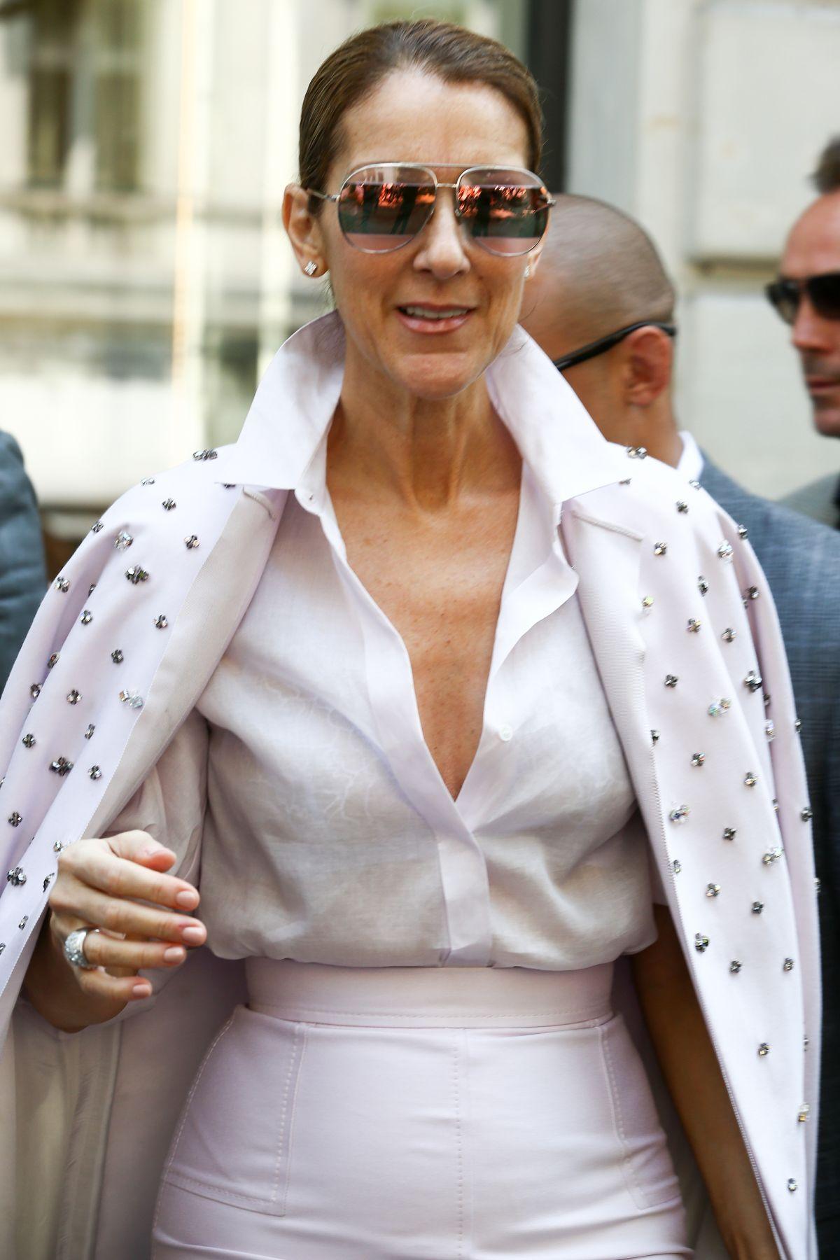celine dion leaves her hotel in paris 06/20/2017 - hawtcelebs