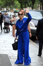 CELINE DION Out and About in Paris 06/27/2017