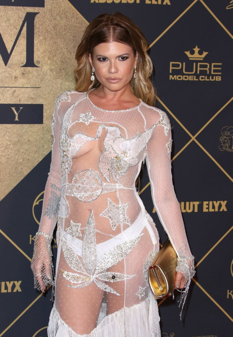 CHANEL WEST COAST at 2017 Maxim Hot 100 Party in Los Angeles 06/24/2017