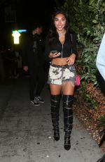 CHANTEL JEFFRIES at Delilah Club in West Hollywood 06/16/2017