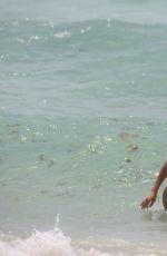 CHANTEL JEFFRIES in Bikini on the Beach in Miami 06/13/2017