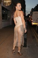 CHANTELLE CONNELLY Arrives at Sixty6 Magazine Launch Party in London 06/21/2017