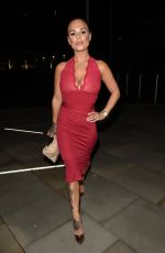 CHANTELLE CONNELLY at Meangerie Bar and Restaurant in Manchester 06/02/2017