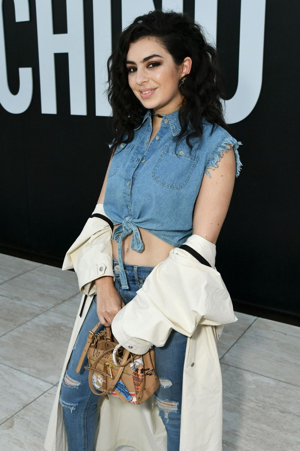 CHARLI XCX at Moschino Spring Summer 2018 Resort Collection 06/08/2017