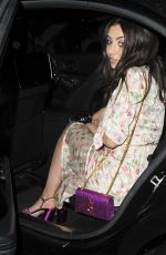 CHARLI XCX Leaves Annabells in London 06/27/2017