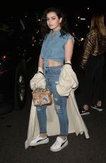 CHARLI XCX Leaves Moschino Party at Milk Studios in Hollywood 06/08/2017