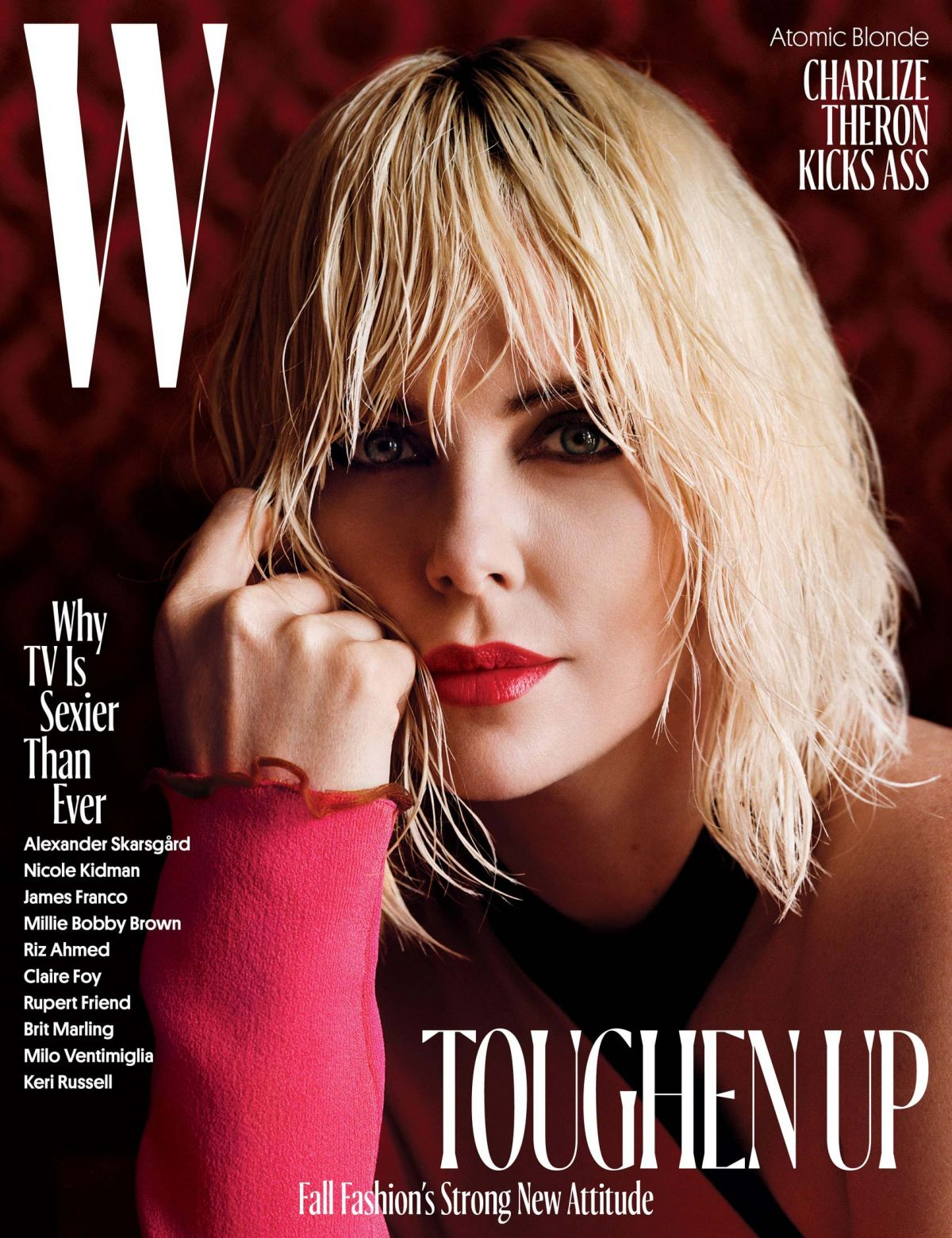 CHARLIZE THERON in W Magazine, August 2017