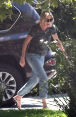 CHARLIZE THERON Out and About in Los Angeles 06/09/2017