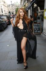 CHARLOTTE DAWSON at Dangerous Game Premiere in London 06/15/2017