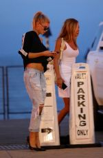CHARLOTTE MCKINNEY in Ripped Jeans Out in Malibu 06/23/2017