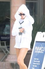 CHARLOTTE MCKINNEY Out for Lunching in Malibu 06/24/2017