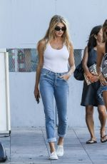 CHARLOTTE MCKINNEY Out Shopping in Beverly Hills 06/27/2017