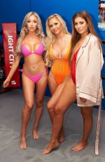 CHLOE FERRY in Swimsuit on the Beach Series 7 Photocall in London 06/20/2017