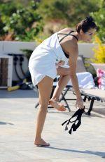 CHLOE GOODMAN in Bikini on Vacation in Sardinia 06/15/2017