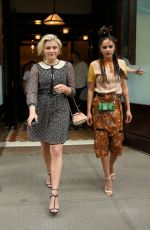 CHLOE MORETZ and SASHA LANE Leaves Greenwich Hotel in New York 06/05/2017