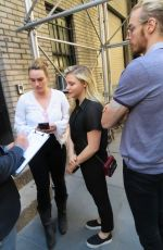 CHLOE MORETZ Arrives at Broadway Thetre Miss Saigon in New York 06/28/2017