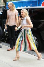 CHLOE MORETZ Arrives at Her Hotel in New York 06/05/2017
