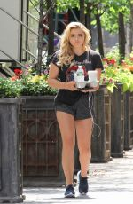 CHLOE MORETZ on the Set of Louis C.K. Untitled Movie Project in New York 06/14/2017