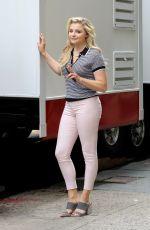 CHLOE MORETZ on the Set of Untitled Louis C.K. Movie in New York 06/14/2017