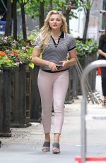 CHLOE MORETZ Out in New York 06/14/2017