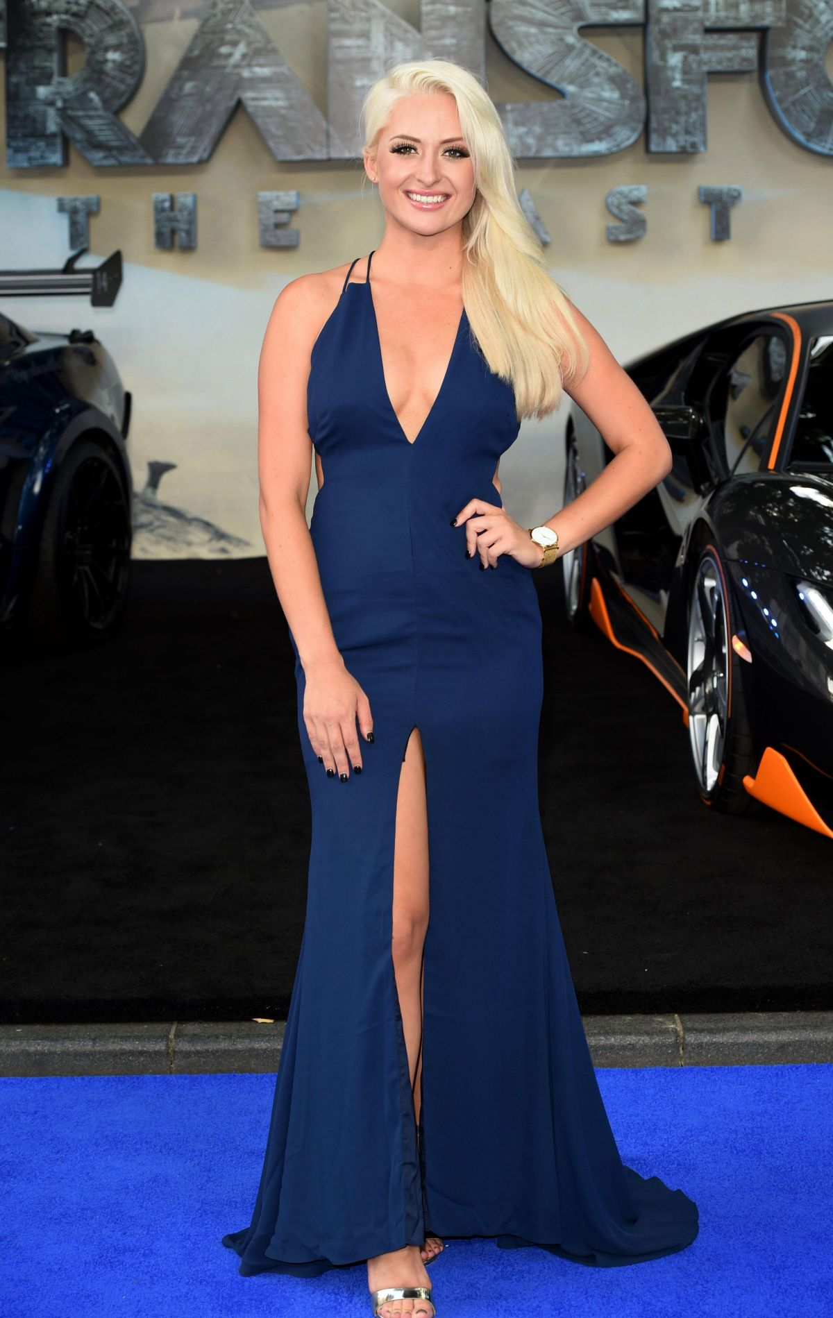 CHLOE PAIGE at Transformers: The Last Knight Premiere in London 06/18/2017