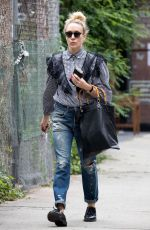 CHLOE SEVIGNY Out and About in New York 06/09/2017