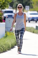 CHRISTINA EL MOUSSA Out Jogging in Orange County 06/13/2017