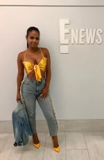 CHRISTINA MILIAN at E News Studio, 06/23/2017 Instagram Pictures