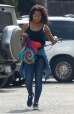 CHRISTINA MILIAN Out and About in West Hollywood 05/31/2017