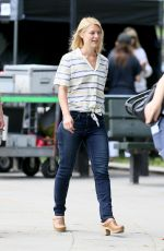 CLAIRE DANES on the Set of A Kid Like Jake in Brooklyn 06/25/2017