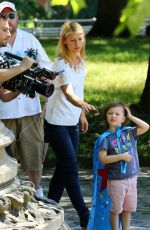 CLAIRE DANES on the Set of A Kid Like Jake in New York 06/20/2017