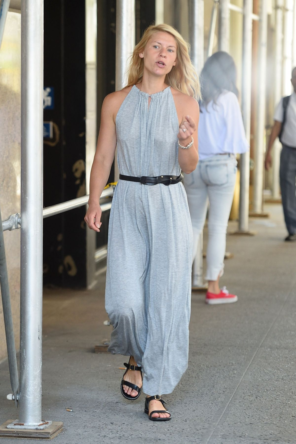 CLAIRE DANES on the Set of A Kid Like Jake in New York 06/21/2017