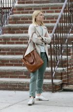 CLAIRE DANES on the Set of A Kid Like Jake in New York 06/22/2017
