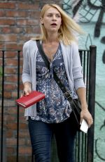 CLAIRE DANES on the Set of A Kid Like Jake in New York 06/23/2017