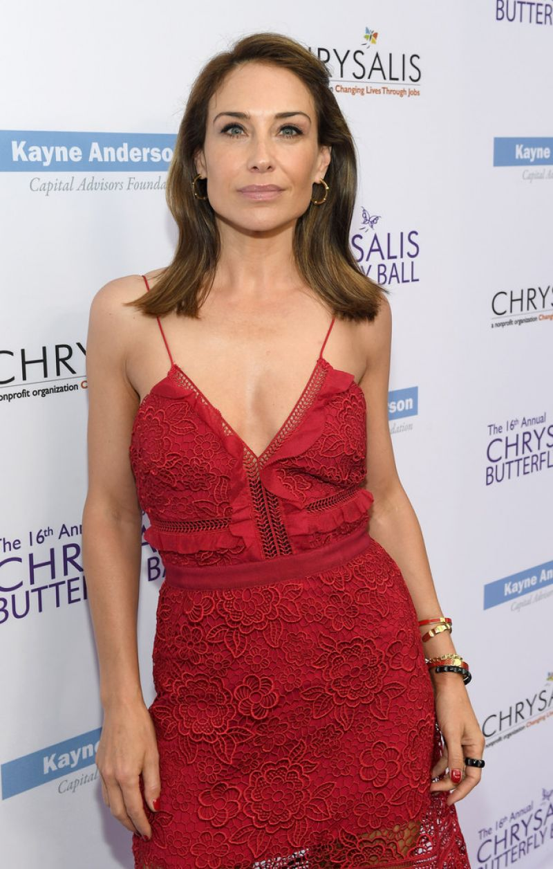 claire forlani at 16th annual chrysalis butterfly ball in