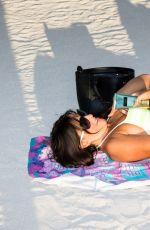 CLAUDIA ROMANI in Bikini on the Beach in Miami 06/04/2017