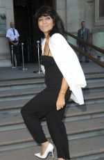 CLAUDIA WINKLEMAN at V&A Summer Party in London 06/21/2017