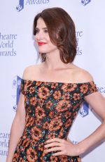 COBIE SMULDERS at Theatre World Awards in New York 06/05/2017