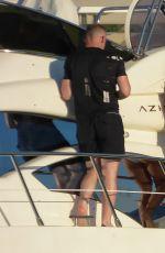 COLEEN and Wayne ROONEY on Vacation in Mykonos 06/10/2017