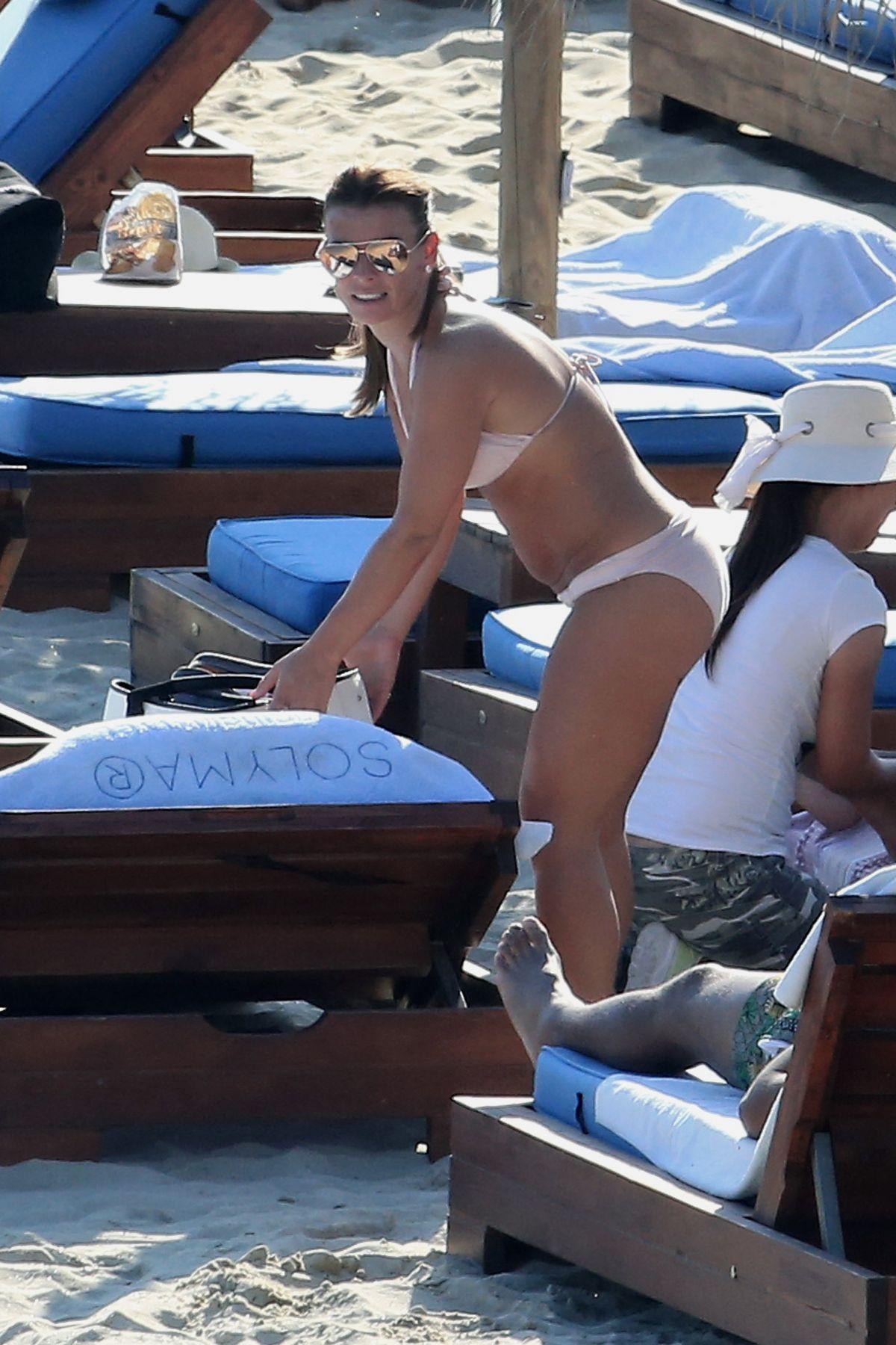 COLEEN ROONEY in Bikini on the Beach in Mykonos 06/09/2017
