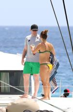 COLEEN ROONEY in Bikini with Her Husband in Barbados 05/30/2017