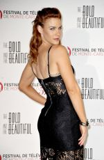 COURTNEY HOPE at The Bold and the Beautiful Anniversary at Monte Carlo TV Festival 06/18/2017