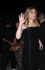 COURTNEY LOVE Arrives at Moschino Spring Summer Party 06/08/2017