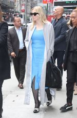 COURTNEY LOVE Leaves Good Morning America in New York 06/05/2017