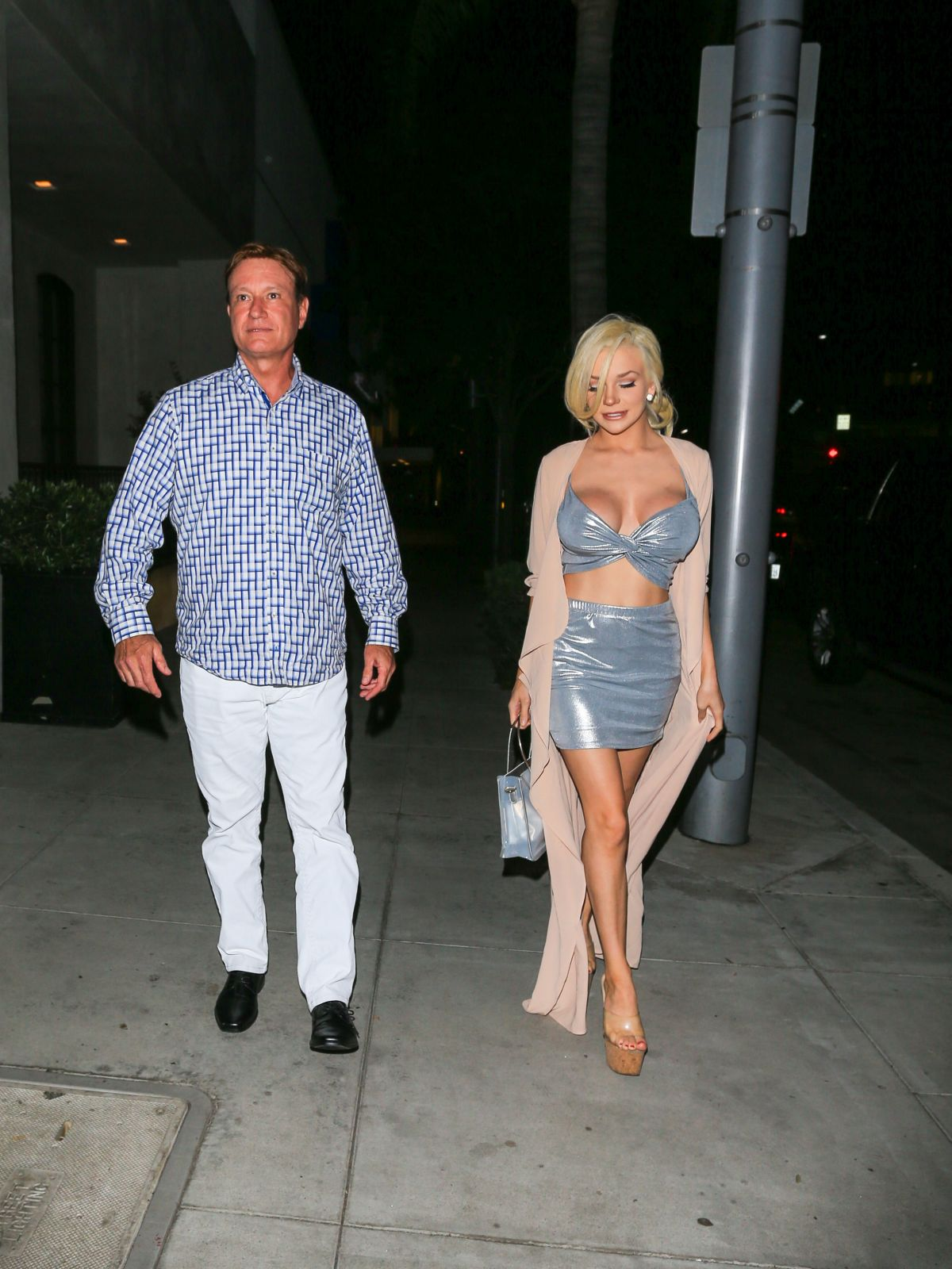 COURTNEY STODDEN at Spago