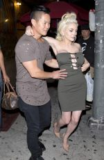 COURTNEY STODDEN Leaves The Laugh Factory in Los Angeles 06/18/2017